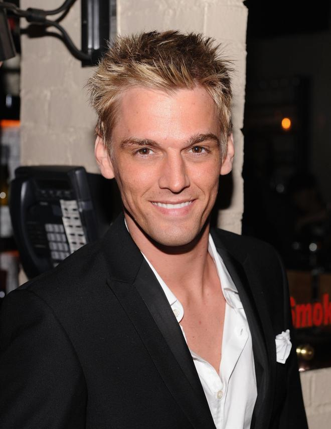 Aaron Carter is set to become a father