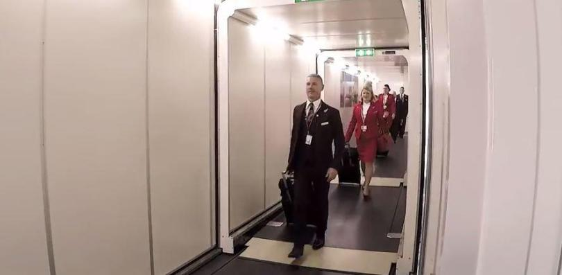 Virgin Atlantic cabin crew have filmed a day in their life to show what it's like to work a flight