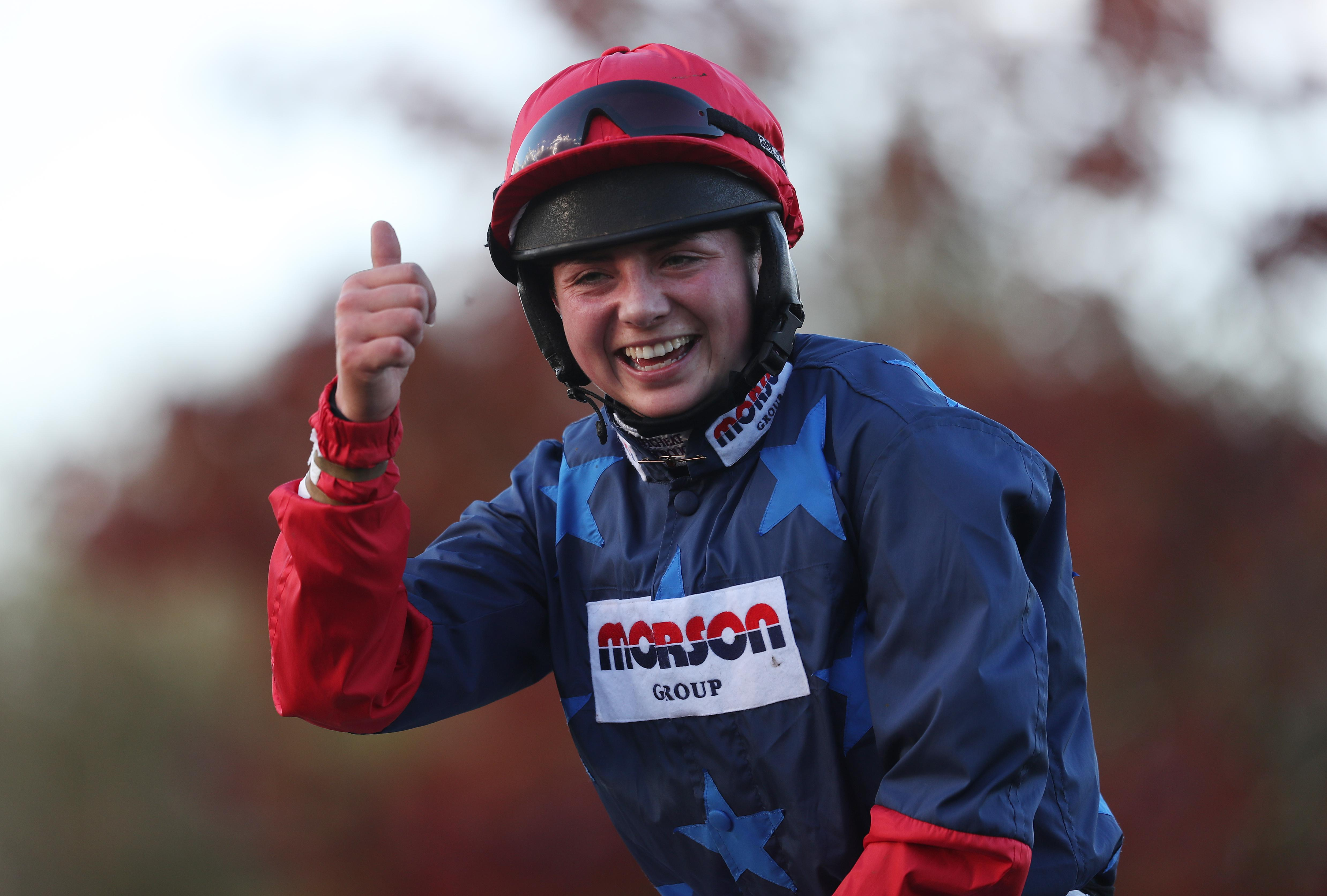 Bryony Frost has had considerable success this season