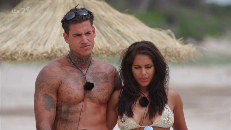 Malin was coupled with Terry Walsh but dumped him after she was eliminated from Love Island