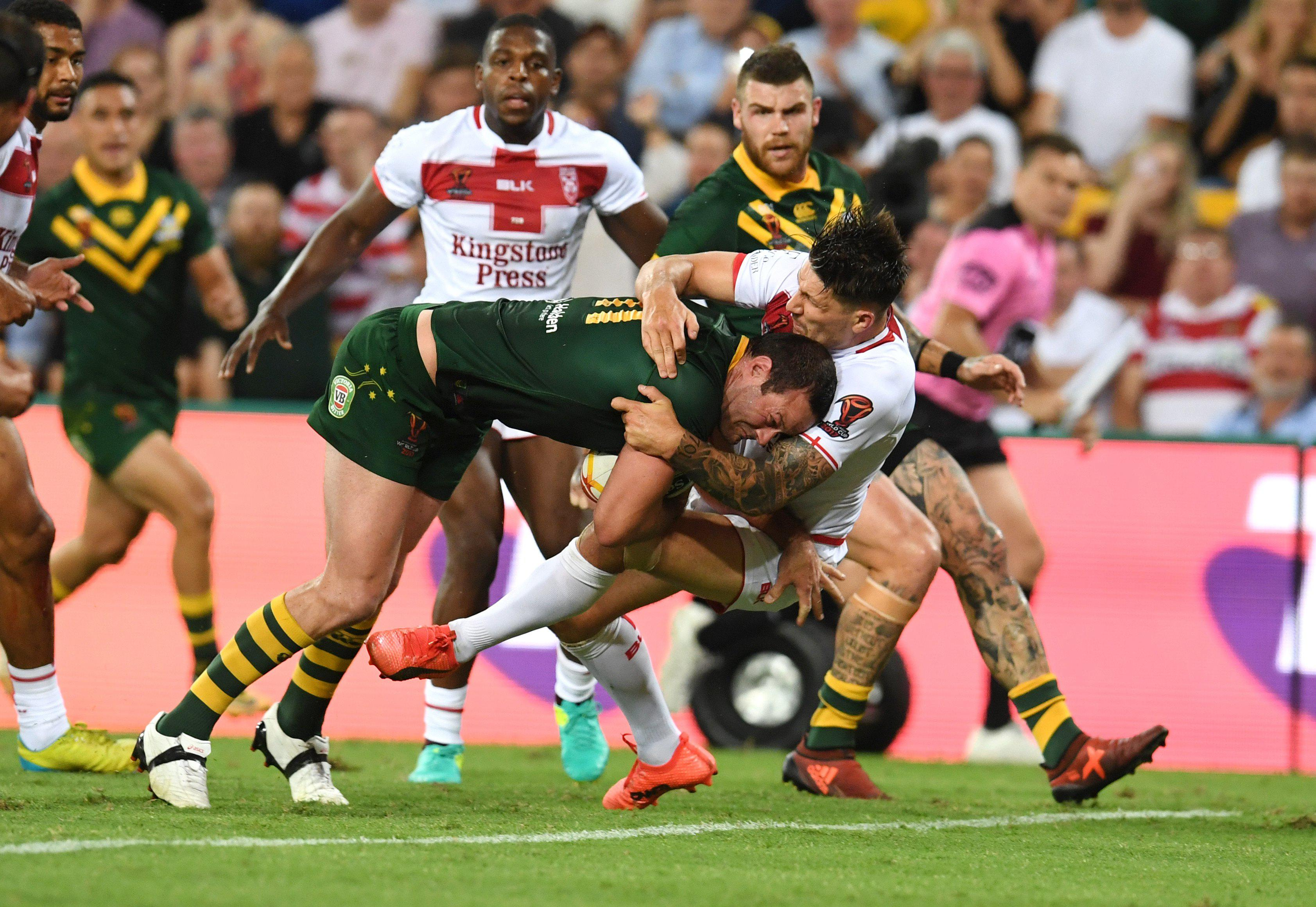 England just fell short in last year's Rugby League World Cup final to Australia