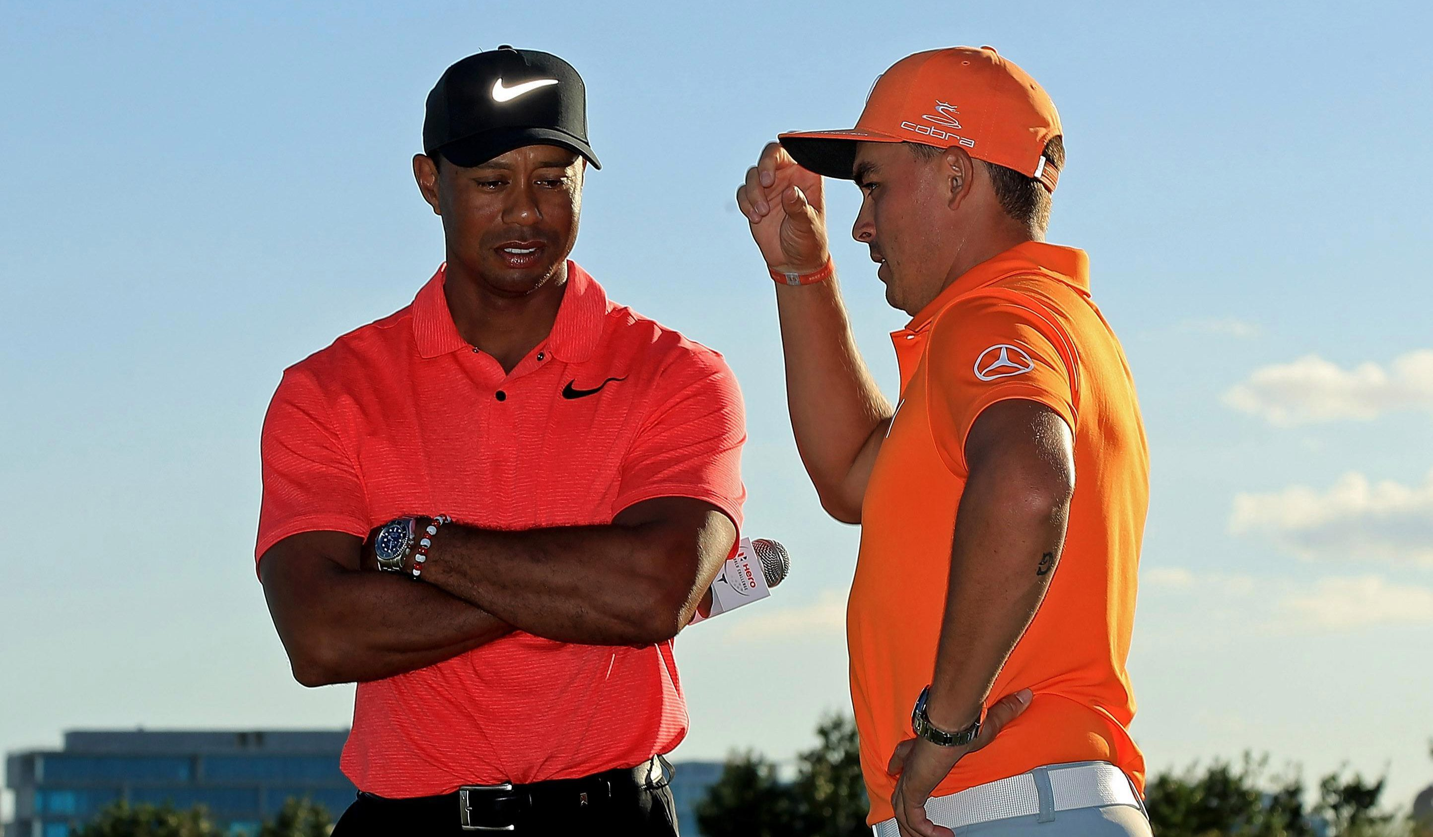 Rickie Fowler is looking forward to taking on Tiger Woods again