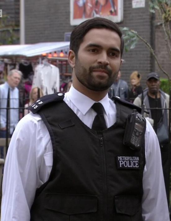 Charlie De Melo played a police officer in EastEnders