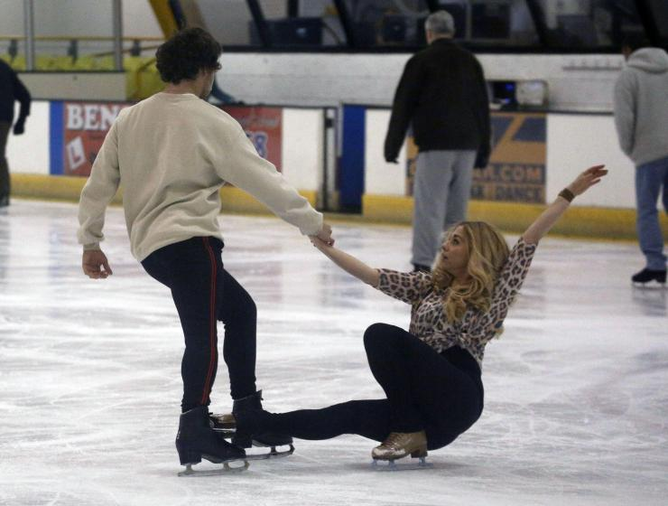 She helped him get his head around some of the trickier moves