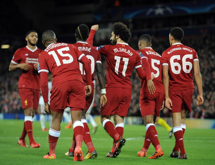 Liverpool won 7-0 against Spartak Moscow on Wednesday evening