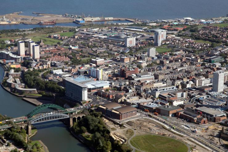 Sunderland, pictured, is one of five cities shortlisted for the prize