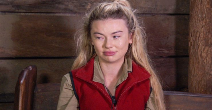 Georgia Toffolo couldn't stop crying when Stanley Johnson left