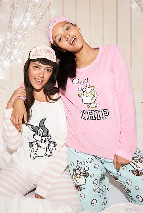 Primark has launched a new Disney-themed pyjama range. Pictured, boxed PJ sets £13 each
