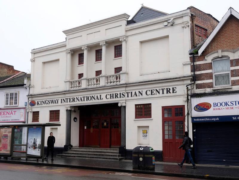 Kingsway International Christian Centre is partly-based in a converted cinema in Walthamstow, East London
