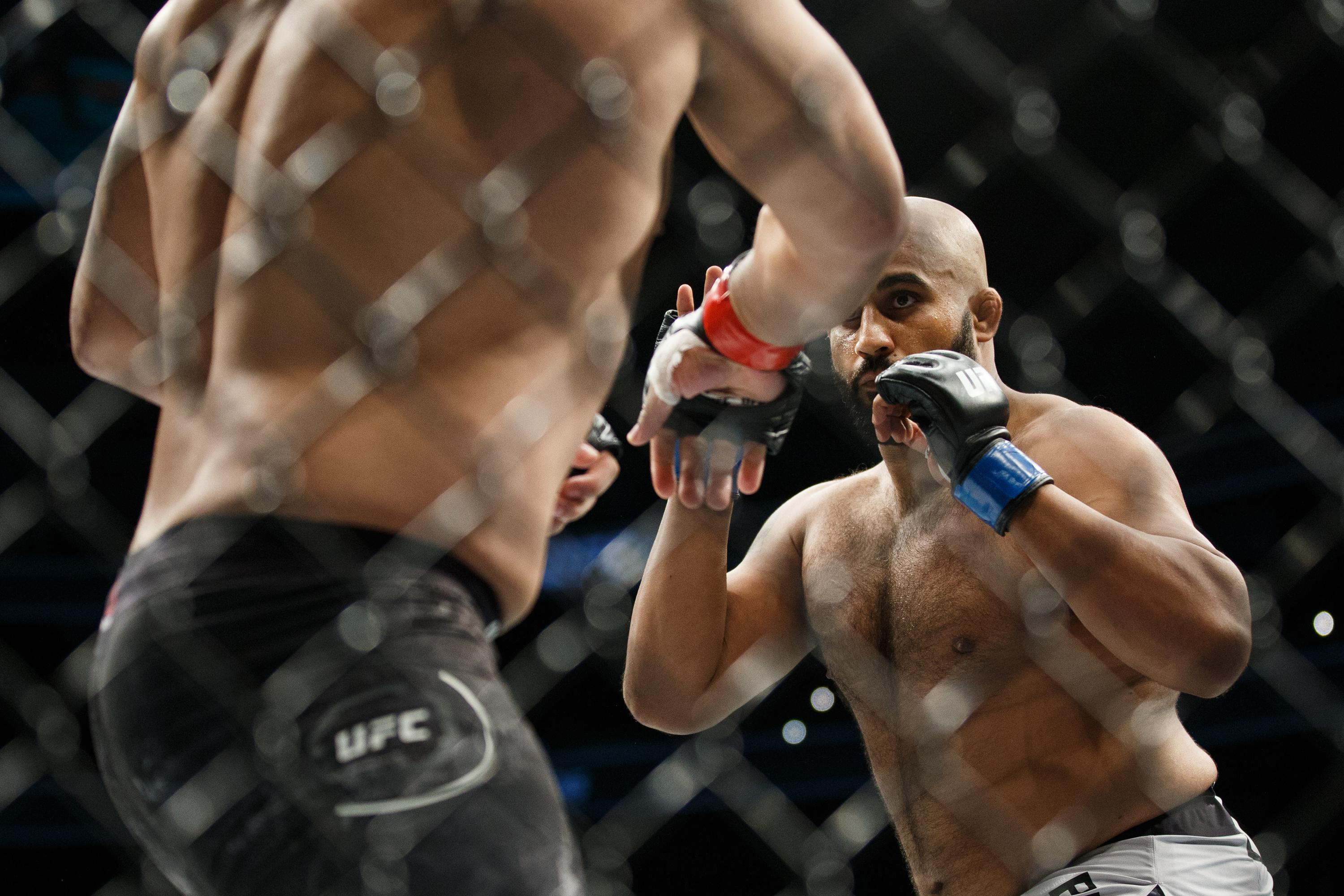 Arjan Bhullar opted to join UFC instead of WWE after competing at London 2012