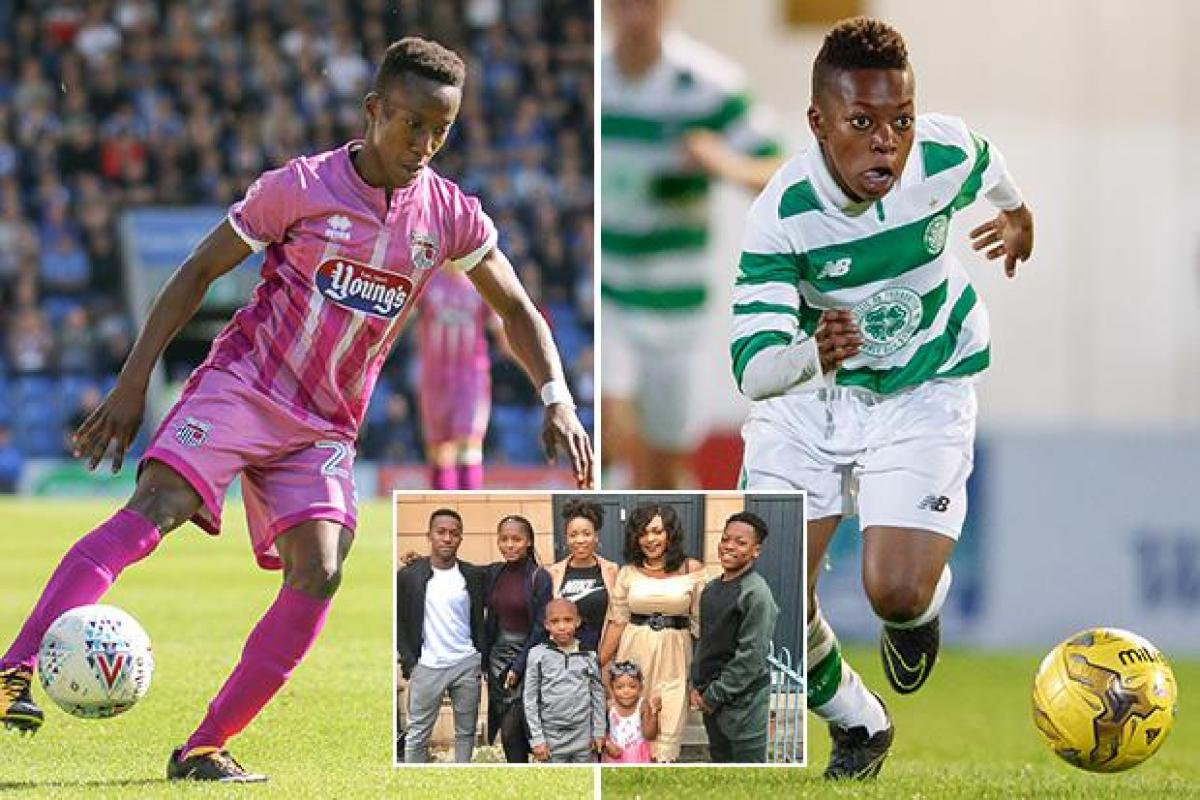 578d7cfef31 Karamoko Dembele has taken Celtic by storm at the age of just 14 but his  brother is also enjoying a dramatic rise through the ranks