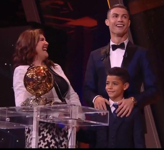 Image result for cristiano ronaldo ballon d'or 2017