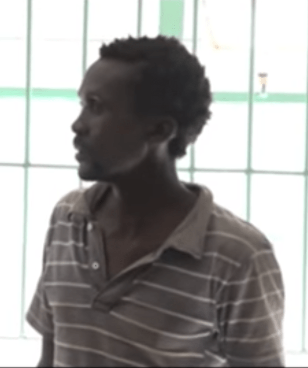 Mbithi Munyao, 35, is behind bars for raping his mother's goats in Kenya