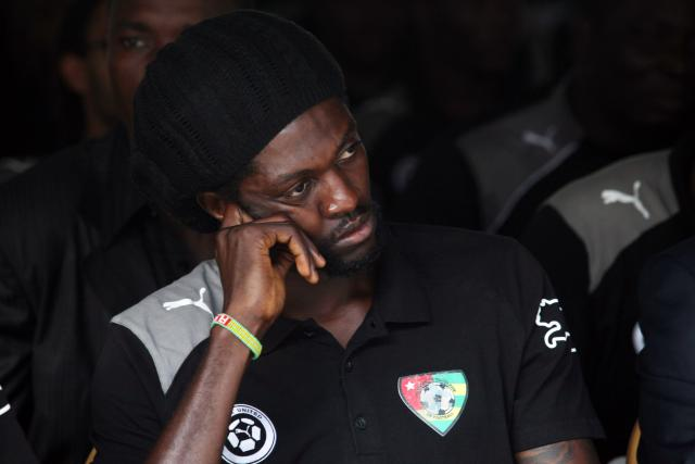 Emmanuel Adebayor pays tribute to those killed and injured during the attach of the Togo team bus eight years ago