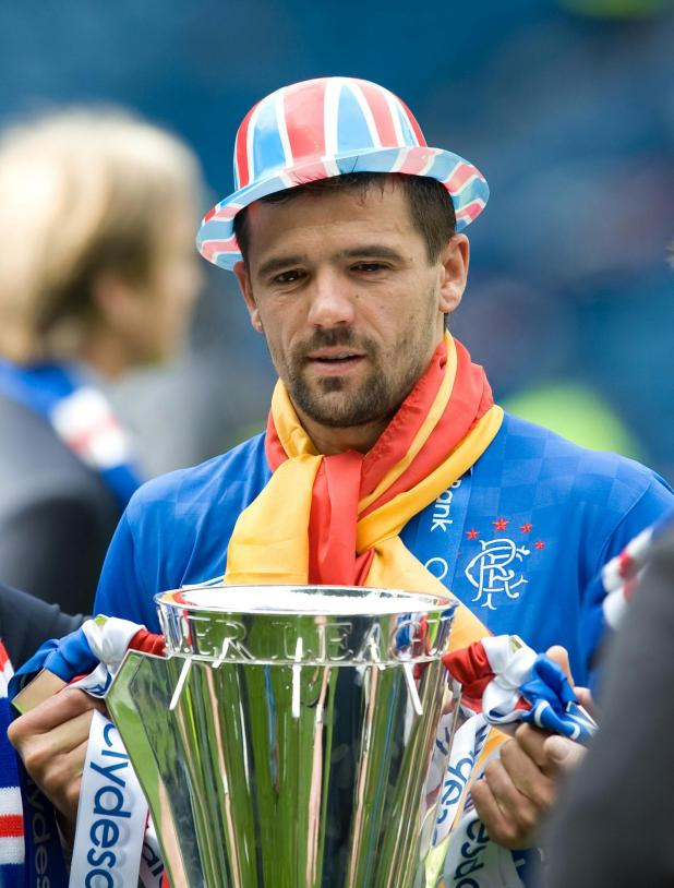 nintchdbpict000145905507 - Rangers legend Nacho Novo out of intensive care after heart attack in Germany as girlfriend Stephanie Heaney keeps bedside vigil