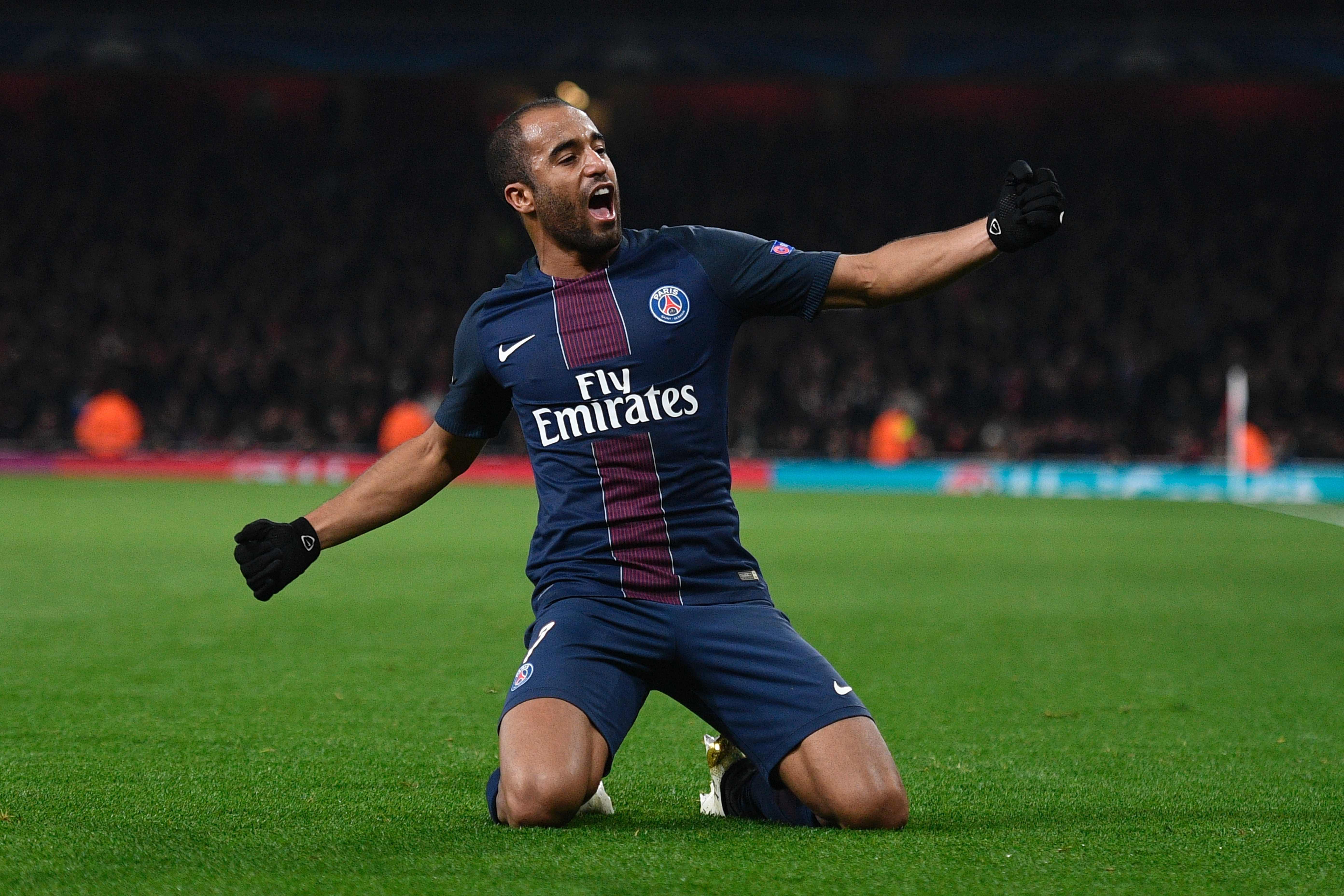 Moura has played 212 times for Paris Saint-Germain