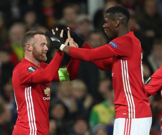 nintchdbpict000284590085 e1514882127266 - Wayne Rooney ignored Paul Pogba in the tunnel before Manchester United's win at Everton