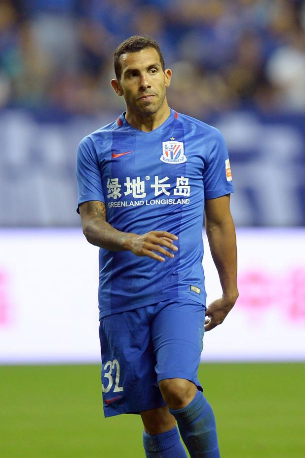 nintchdbpict0003531316371 - Carlos Tevez laughs off disaster £32million Shanghai Shenhua spell, announcing: 'I was on holiday for seven months in China'