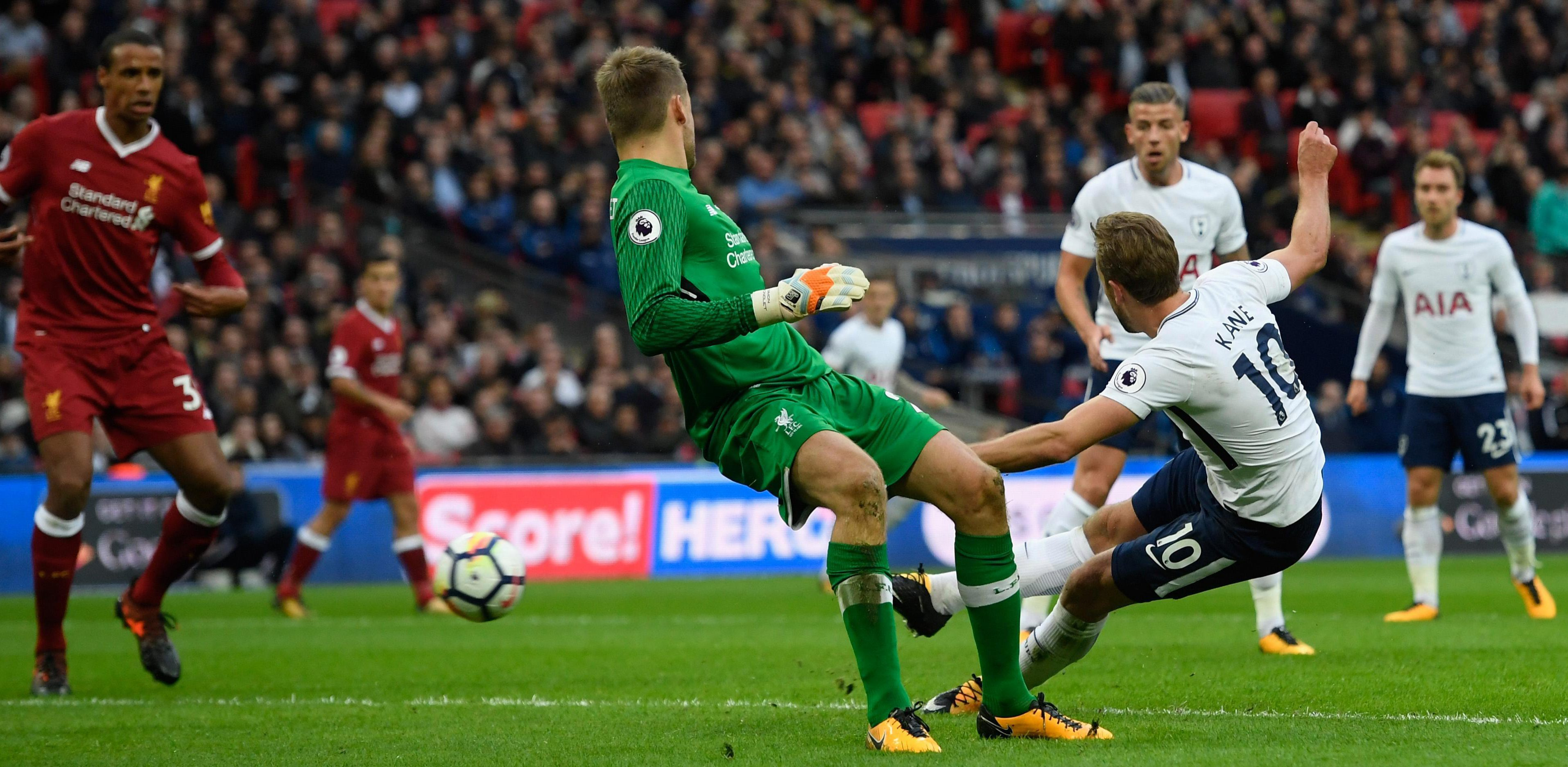 Harry Kane gives Liverpool the full treatment at Wembley