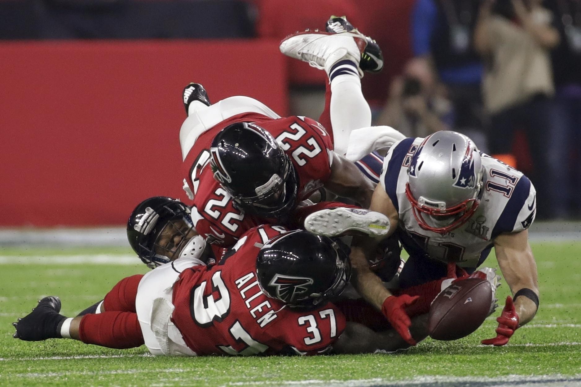 Atlanta lost a heart-breaking Super Bowl against New England last year