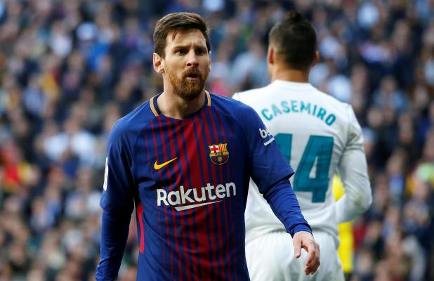 nintchdbpict000374569049 - Real Madrid 'were willing to meet Lionel Messi's £222million buy-out clause in 2013' — and set up meeting on private jet