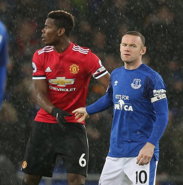 nintchdbpict000375706019 e1514882108547 - Wayne Rooney ignored Paul Pogba in the tunnel before Manchester United's win at Everton