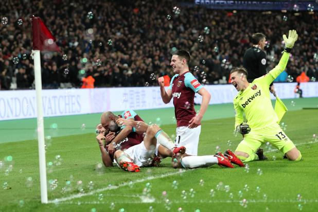 nintchdbpict000375846316 - West Ham 2 West Brom 1: Watch highlights as Andy Carroll bags 94th-minute winner to seal dramatic three points for Hammers