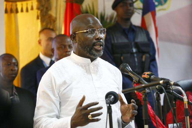 George Weah was recently announced as president of Liberia