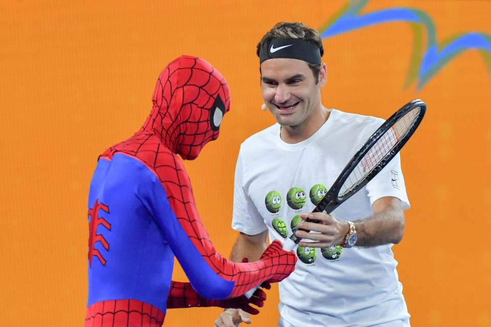 Roger Federer must have superpowers of his own to be Aussie Open favourite at 36