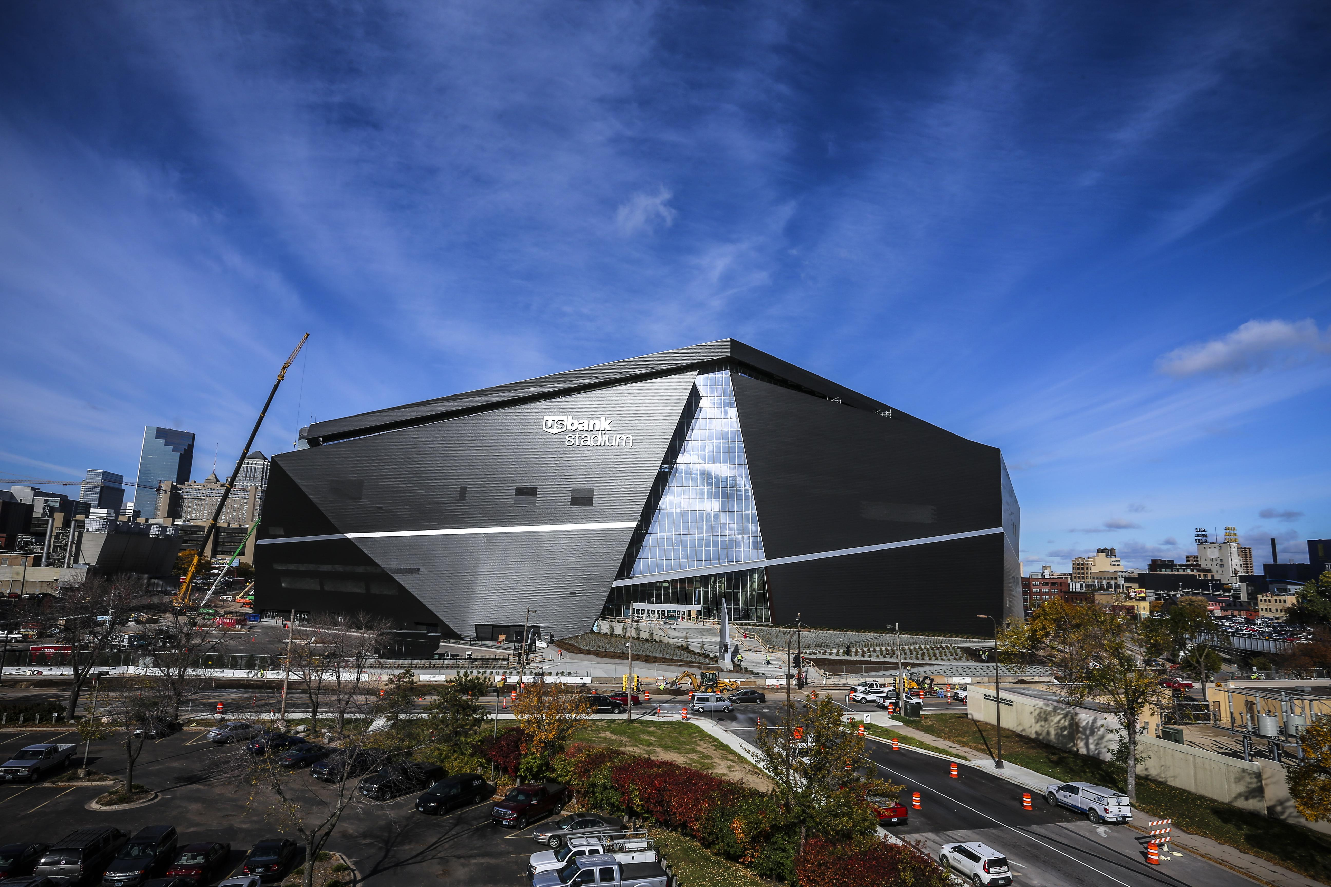 US Bank Stadium will be at the centre of the world when it hosts Super Bowl 52