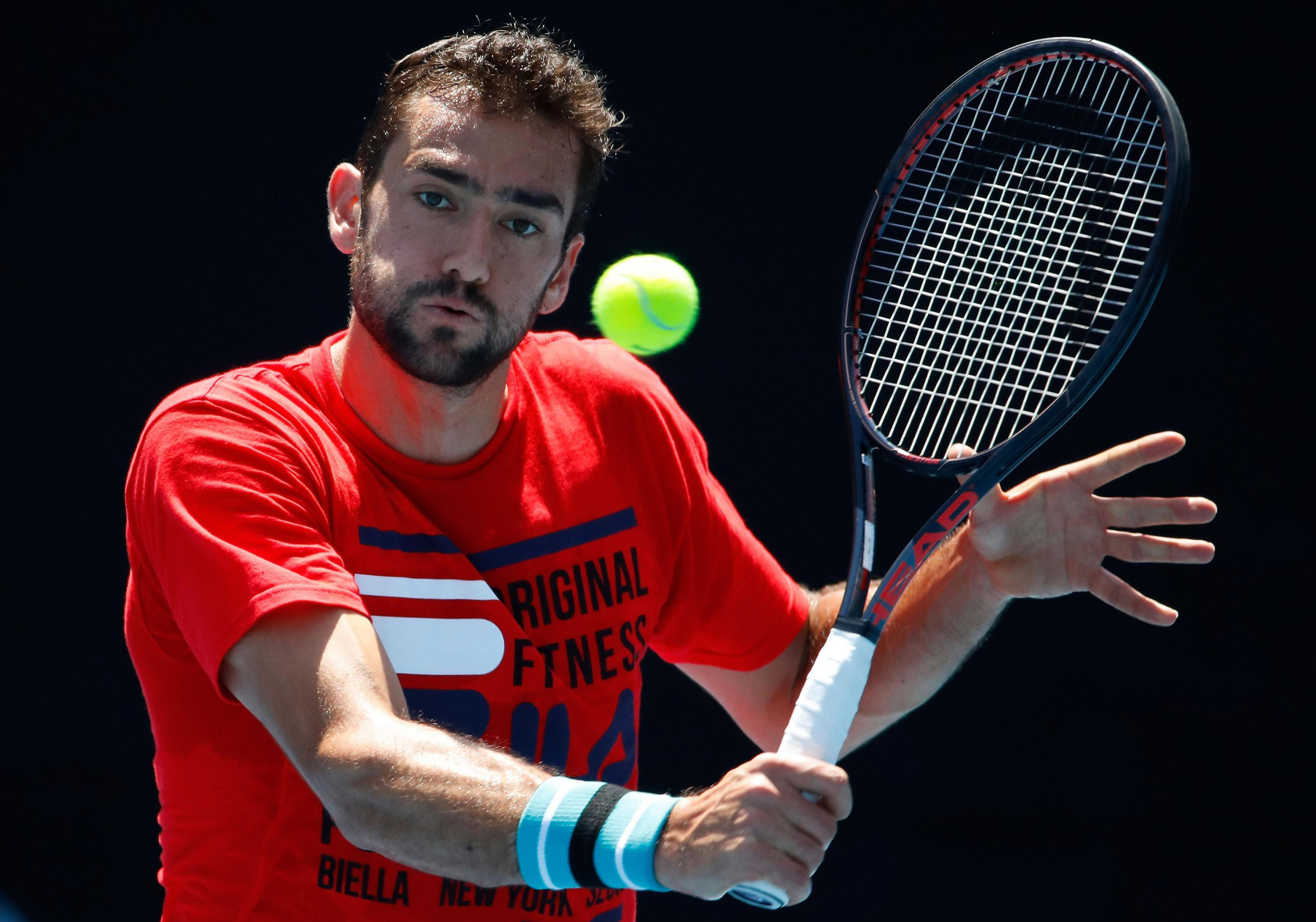 Kyle Edmund must first get past Marin Cilic in the Australian Open semi-final