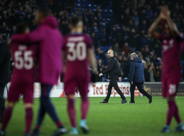 nintchdbpict000381281895 - Pep Guardiola berated referee Lee Mason for failing to protect Man City players like injured Leroy Sane