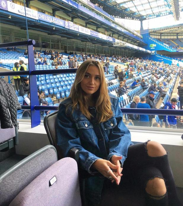 nintchdbpict000381704613 - Katrine Friis: She looks hot in a bikini, loves shopping at Harrods and Liberty and takes London's Tube… meet Andreas Christensen's Wag