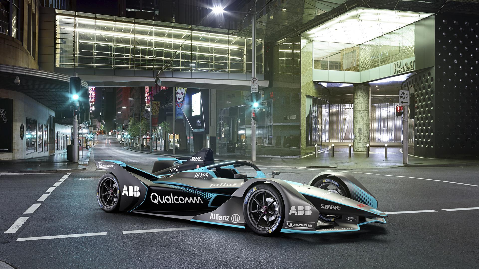 Formula E released images of their stunning new car this week