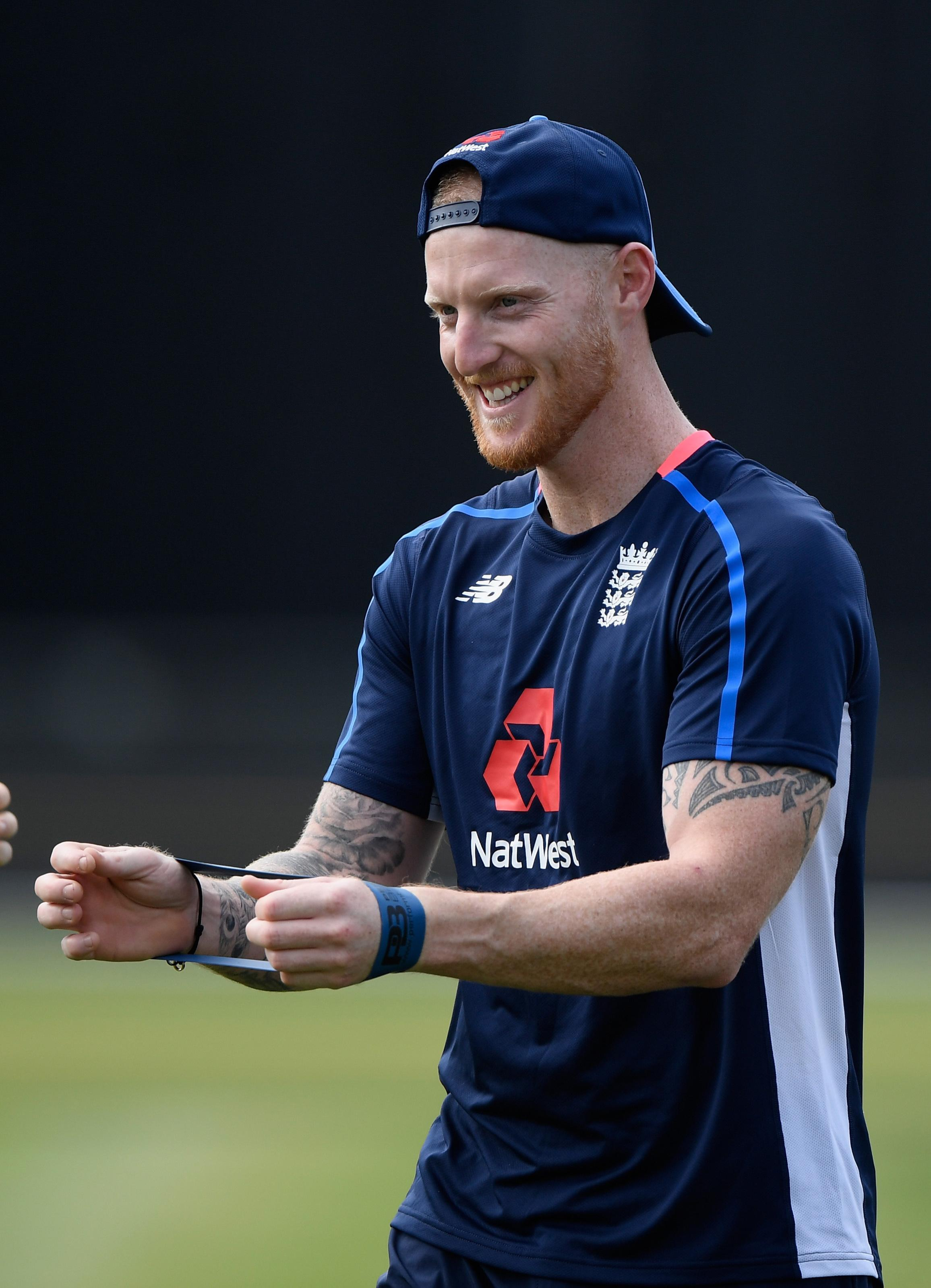 Ben Stokes is back in England training ahead jetting out to New Zealand