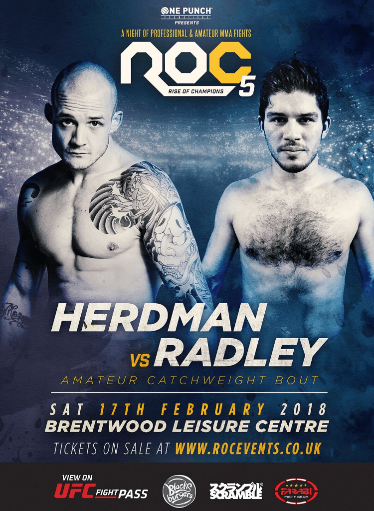 Josh Herdman will take on Samuel Radley in his next fight later this month