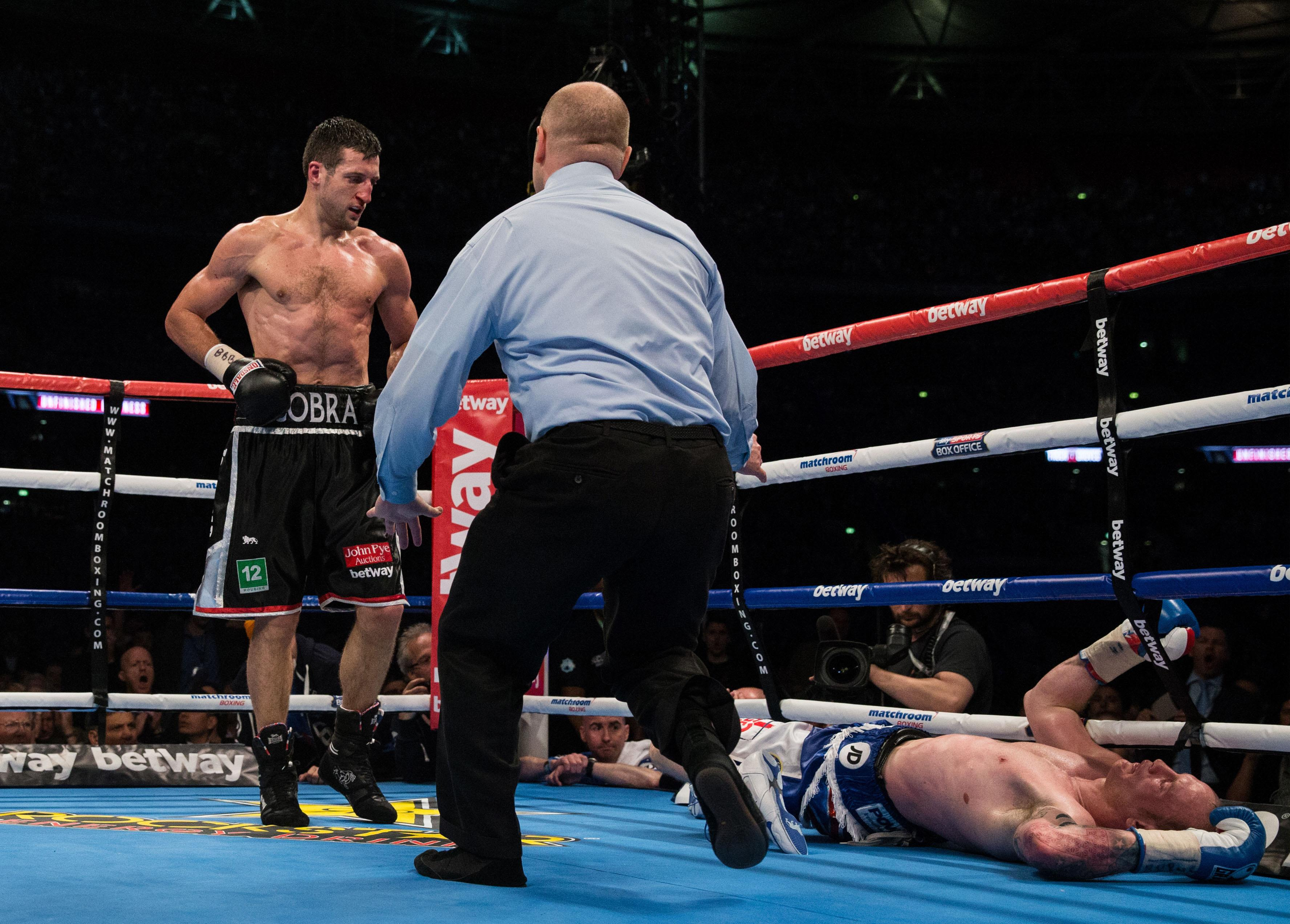 George Groves remembers the mistakes he made when he was knocked out by Carl Froch
