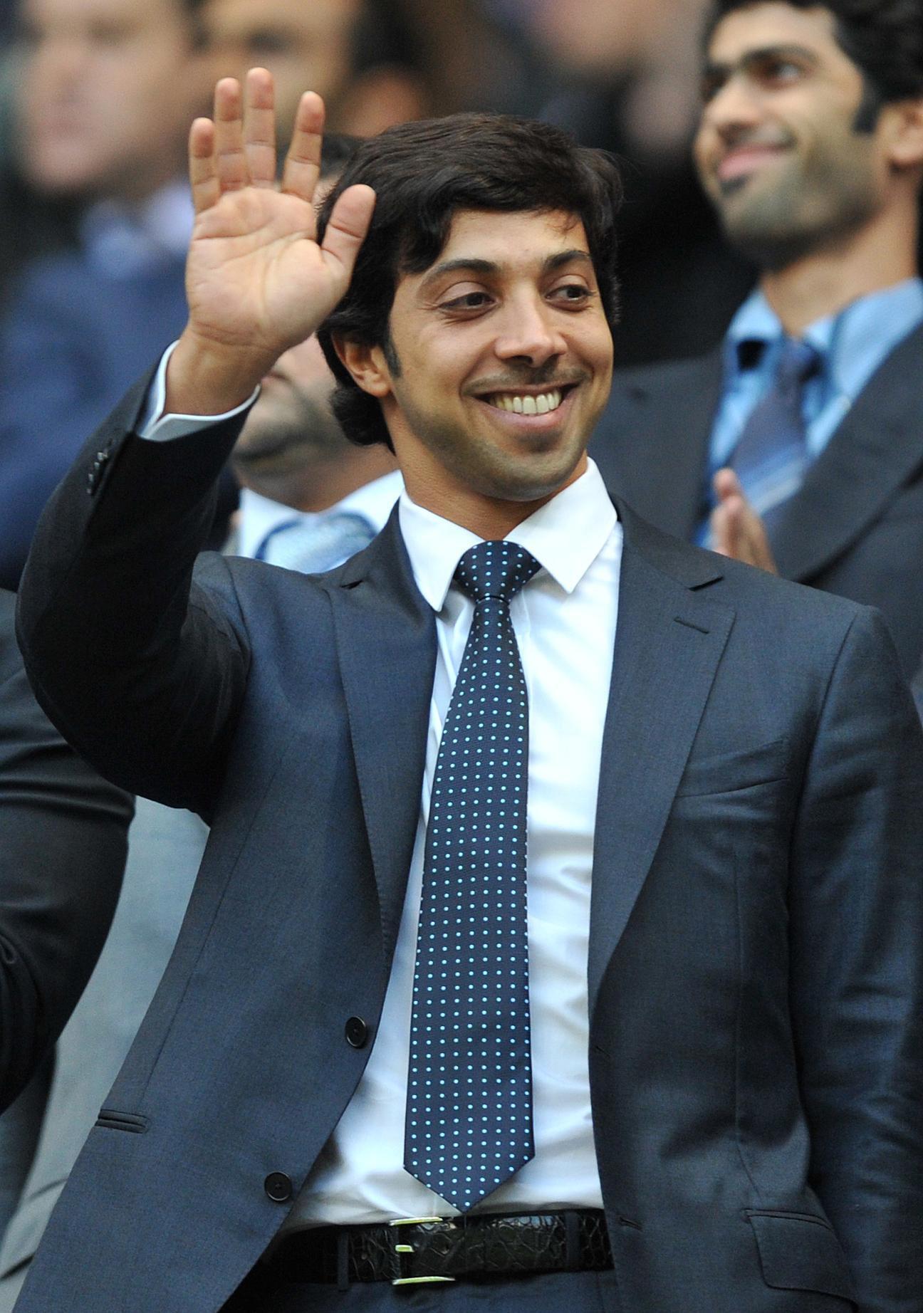 Sheikh Mansour owns the £400m Topaz