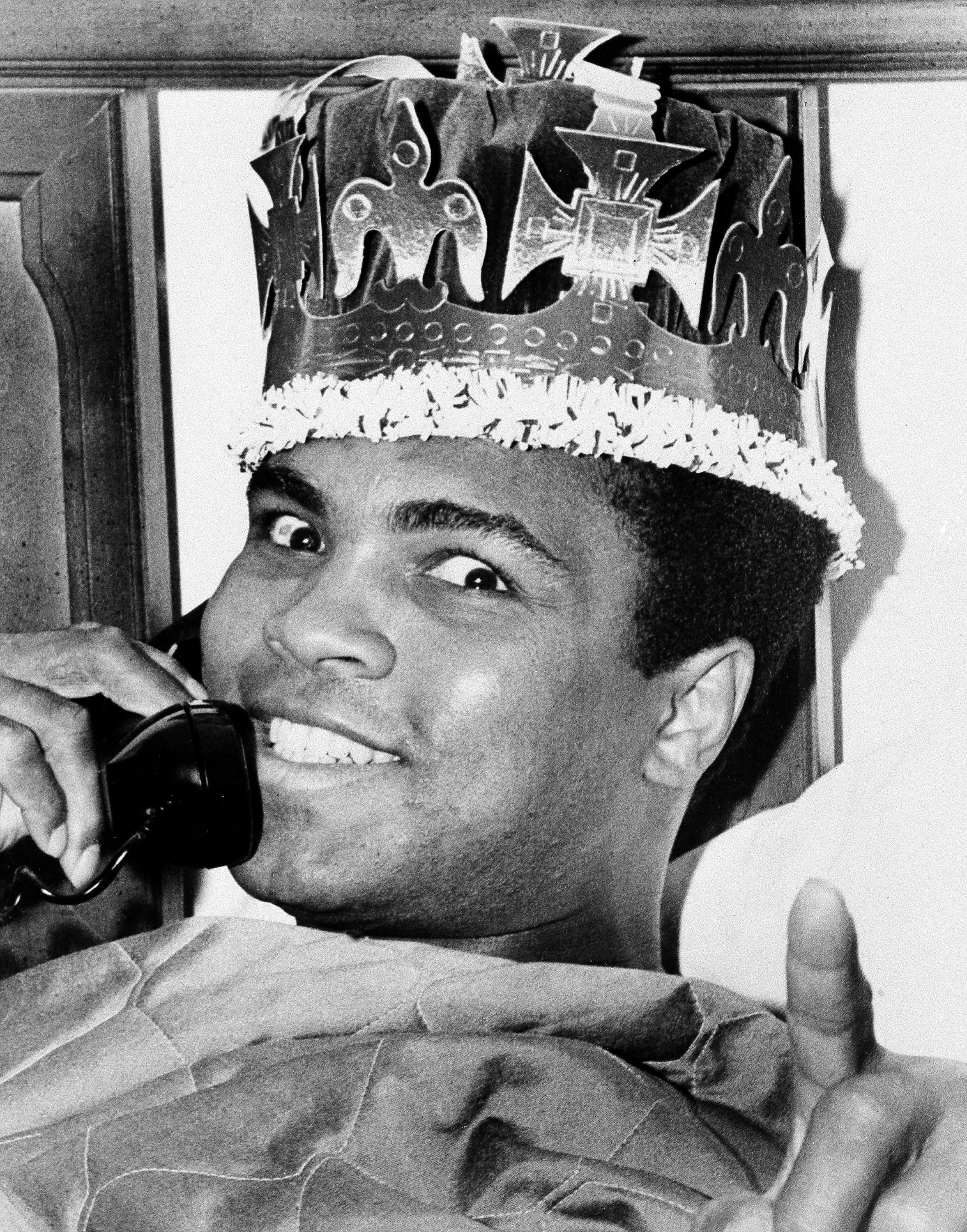 When tensions were high in heavyweight boxing, Muhammad Ali really was the king of the ring