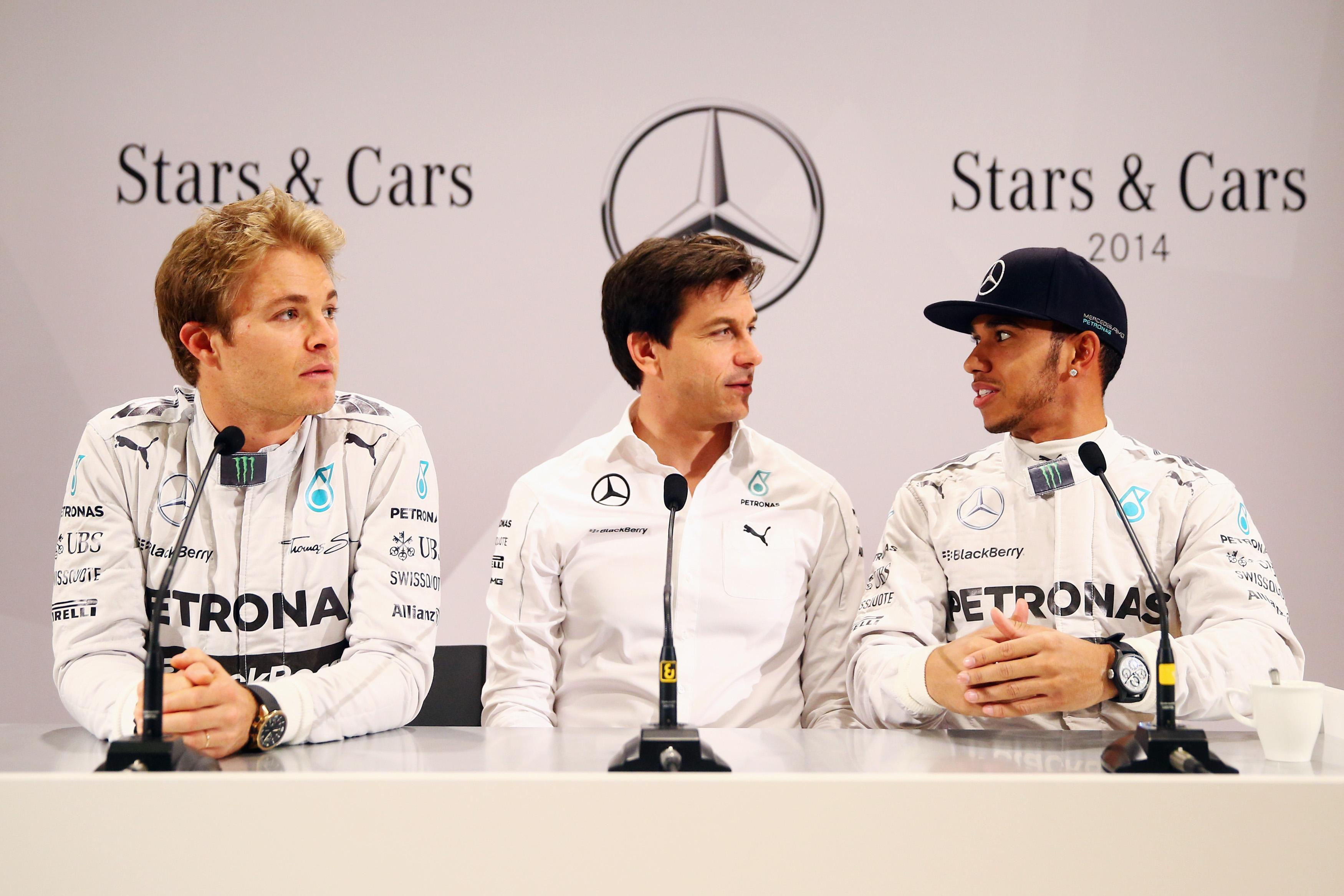 Mercedes have dominated Drivers' Championship with Lewis Hamilton and Nico Rosberg winning last four titles