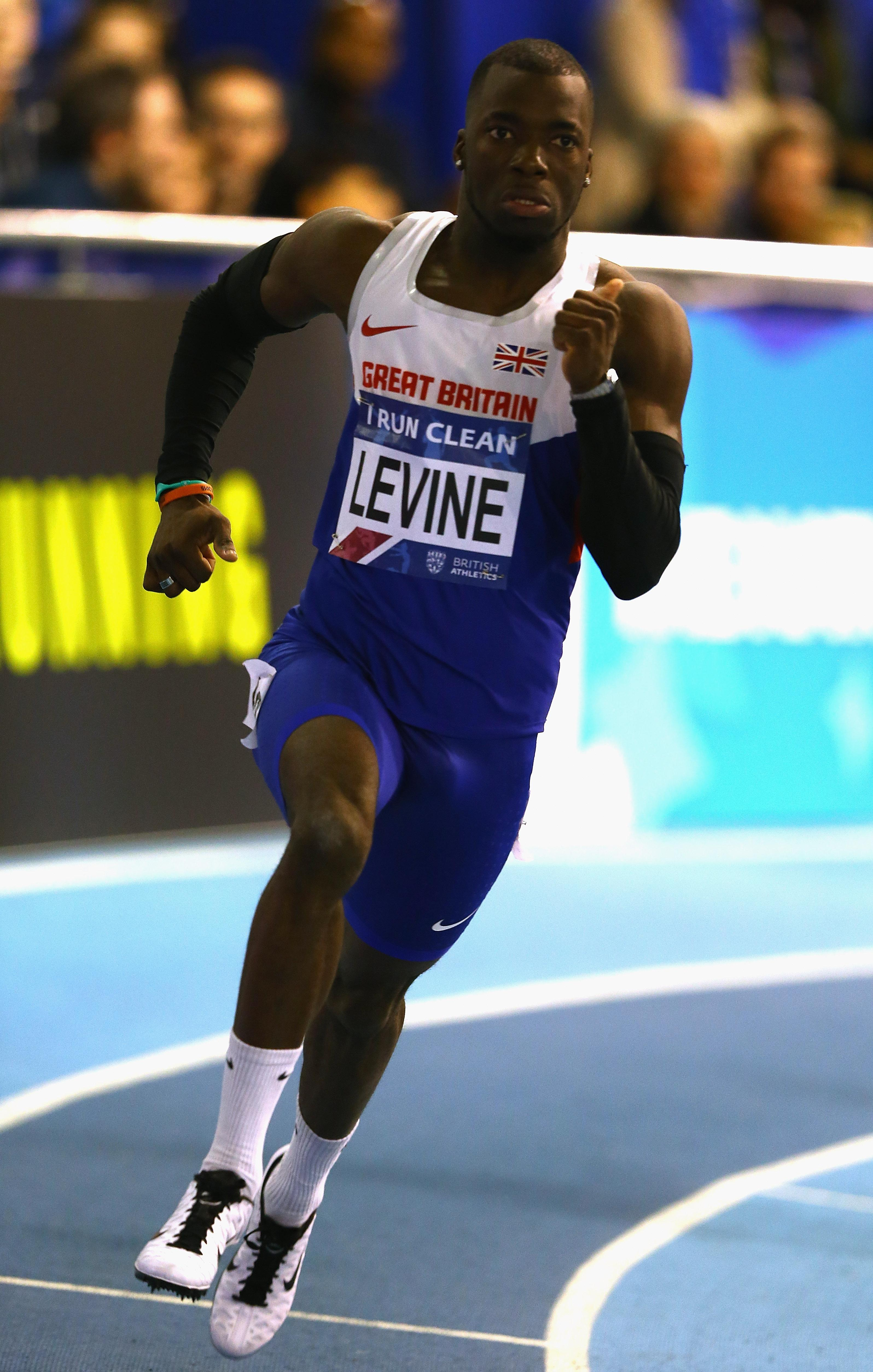 Nigel Levine has been provisionally suspended after being charged with doping