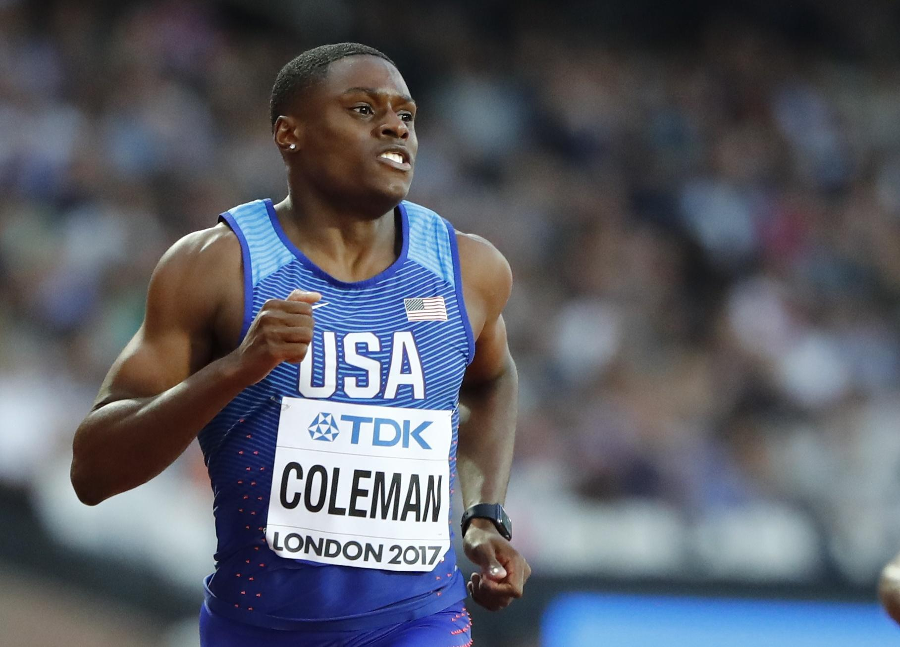 Christian Coleman obliterated Maurice Greene's world record of 6.39sec by 5/100ths of a second
