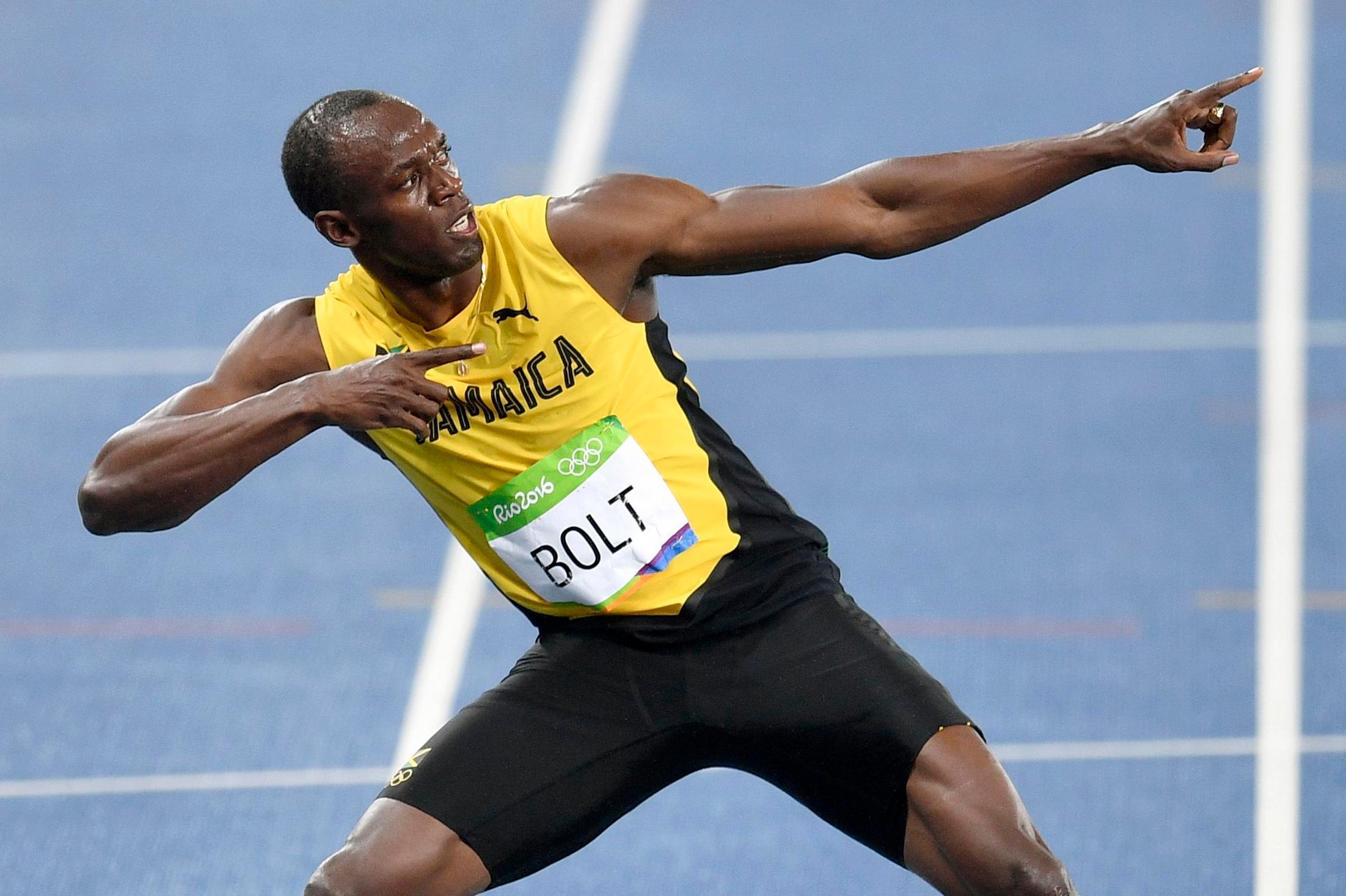 Usain Bolt Football Team Who Has Jamaican Olympic Sprint Legend