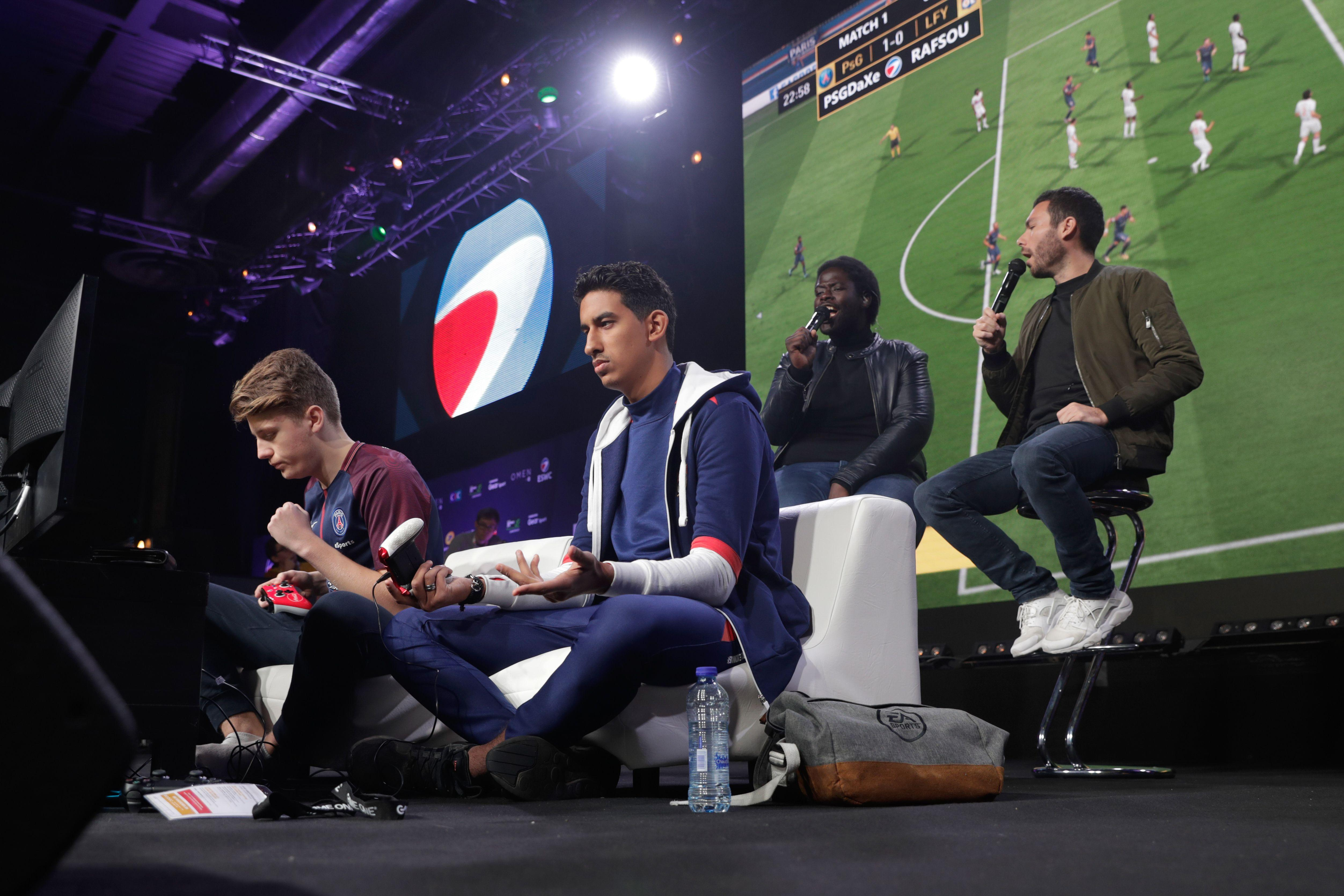 ESports is rapidly growing in popularity and with young people is almost on a par with football