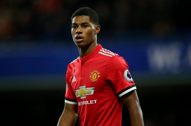 nintchdbpict000365012147 e1517827262314 - Manchester United star Marcus Rashford posts picture of his new dog Saint in a club shirt