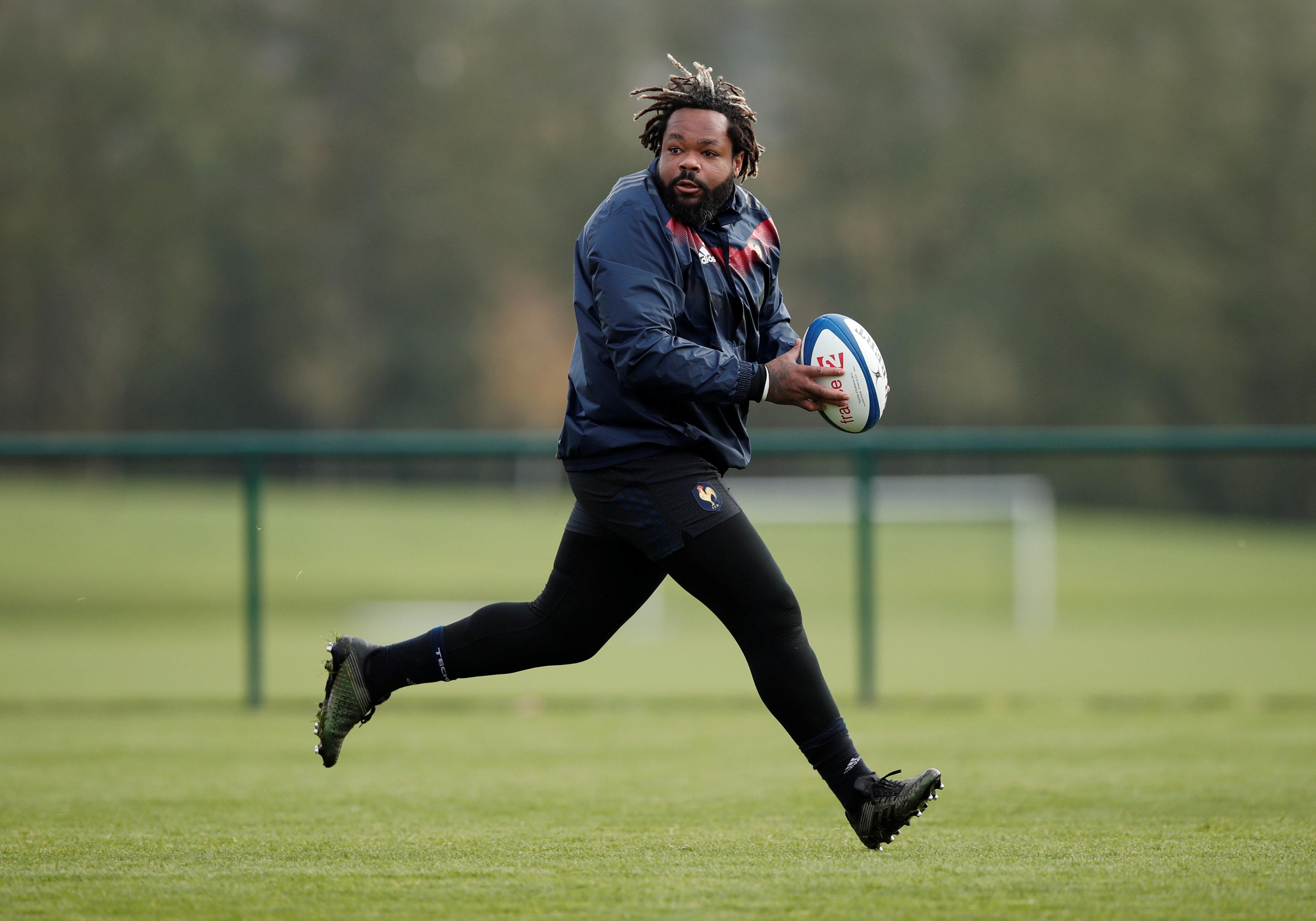 Battering ram centre Mathieu Bastareaud is back and available for selection for Les Bleus again