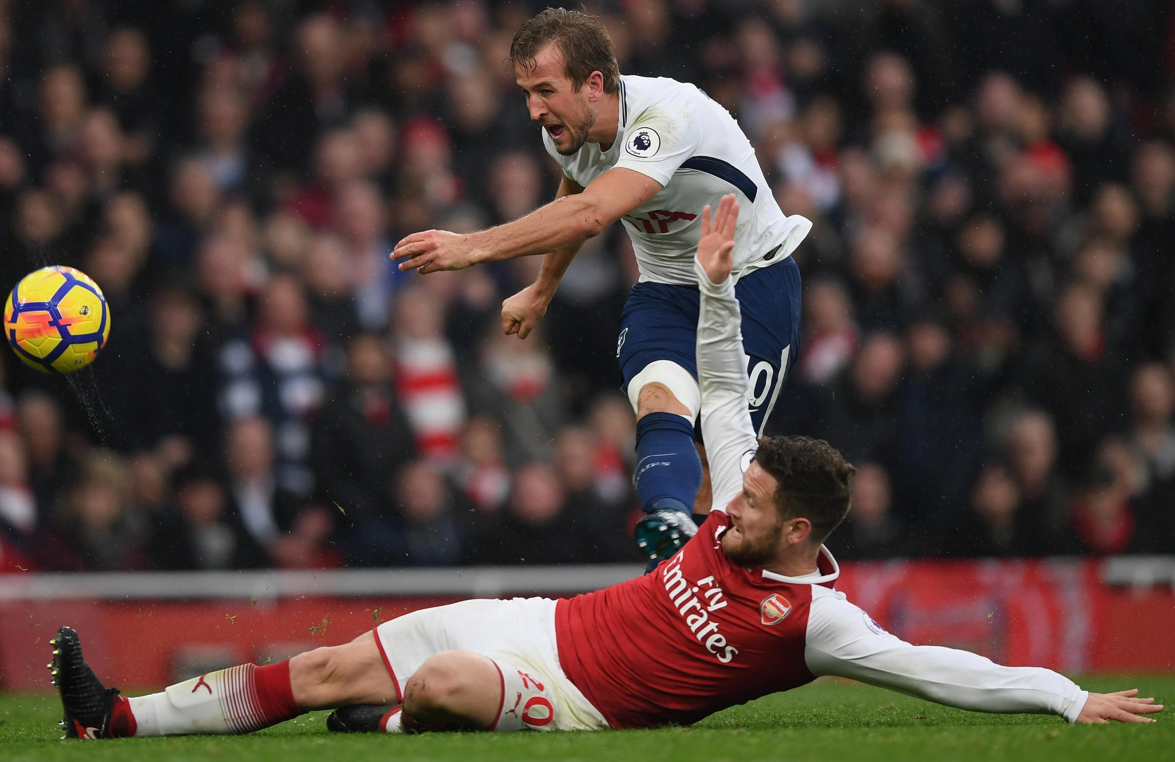 Kane has been a thorn in Arsenal's side ever since