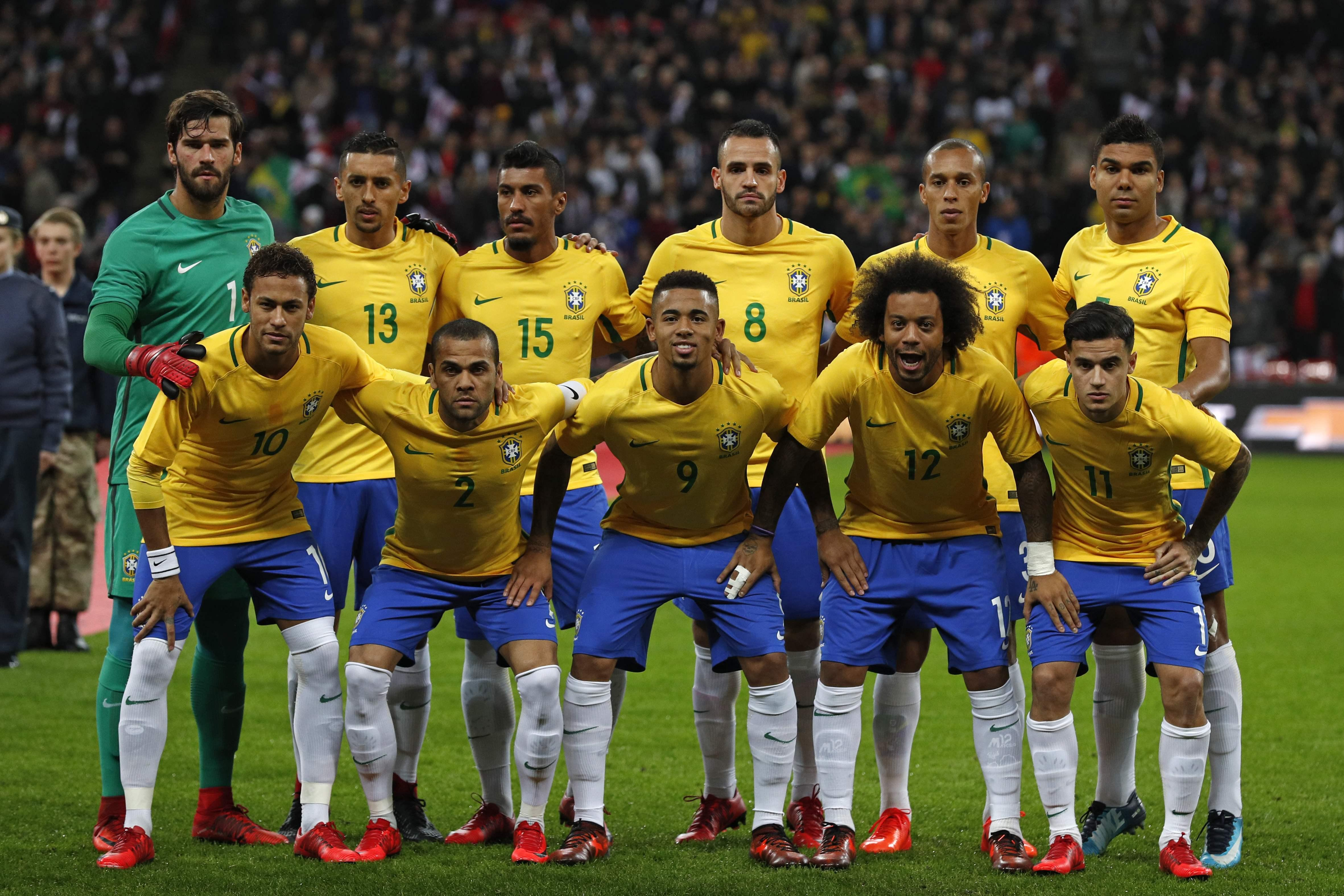 Brazil boss Tite has named his starting XI for this summer's World Cup - with these guys all in
