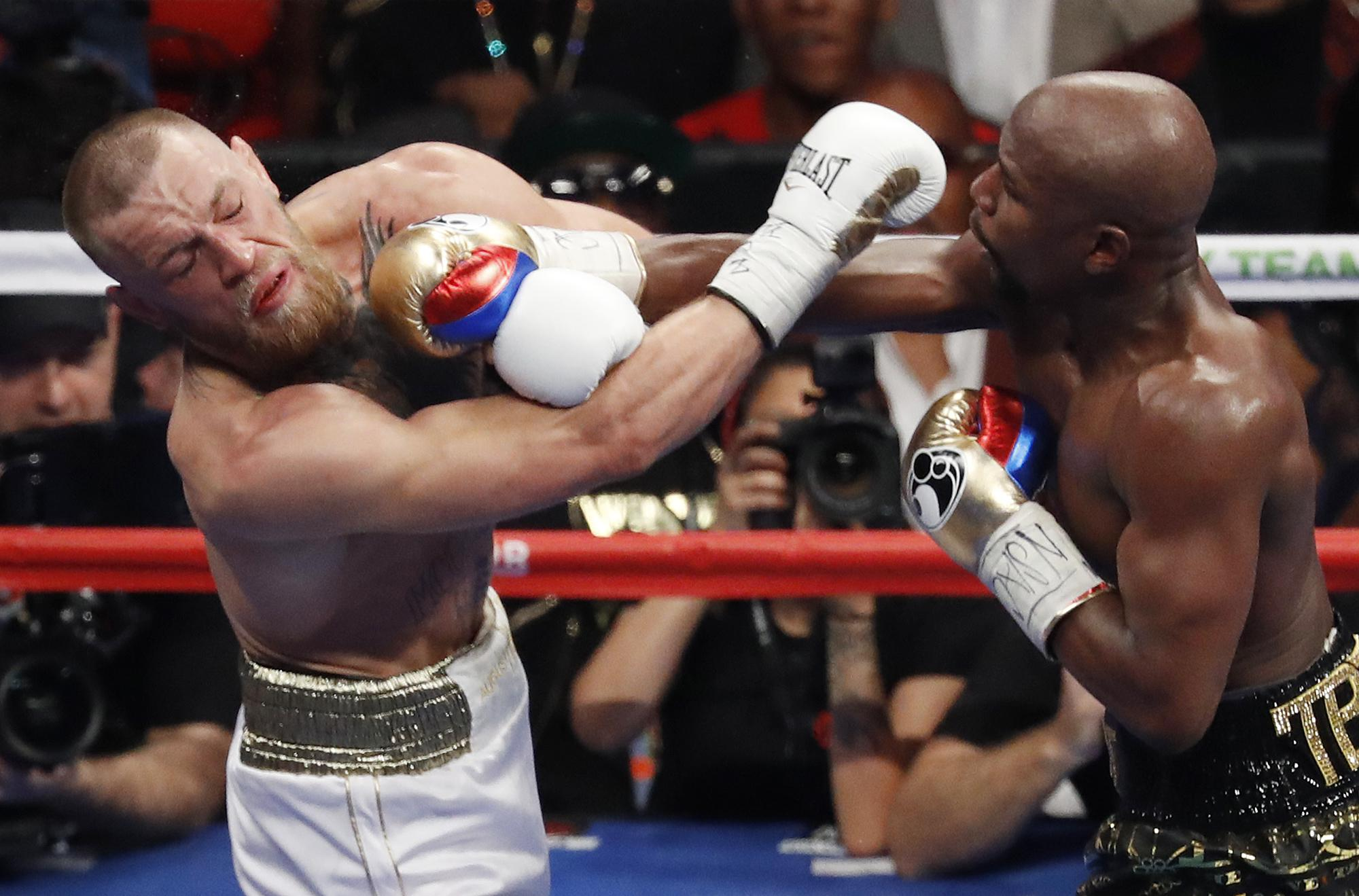 The pair could be set to clash again after last summer's boxing spectacle