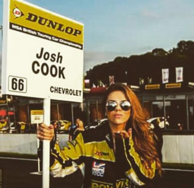 Chantel George says grid girls add glamour and prestige to F1